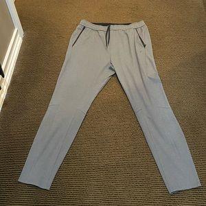 Men's Charcoal Track Pants.